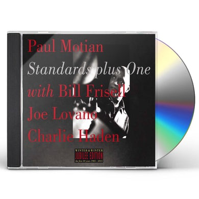 Paul Motian STANDARDS PLUS ONE CD