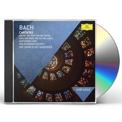 John Eliot Gardiner VIRTUOSO-JS BACH: CANTATAS CD