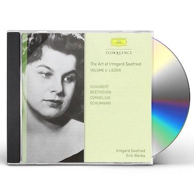 Irmgard Seefried SCHUBERT SCHUMANN BEETHOVEN CORNELIUS 4 CD