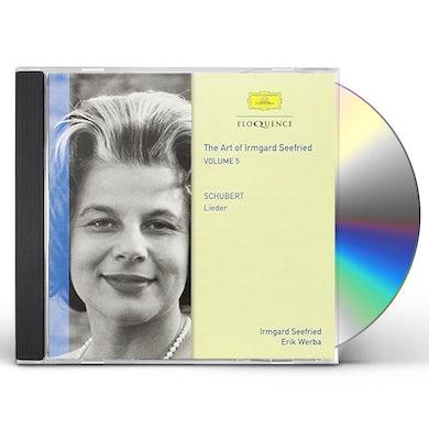 Irmgard Seefried SCHUBERT 5 CD