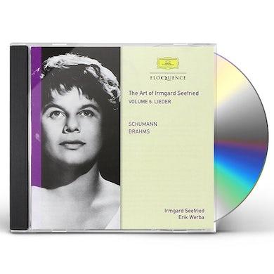 Irmgard Seefried SCHUMANN BRAHMS 6 CD