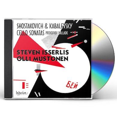 Steven Isserlis SHOSTAKOVICH & KABALEVSKY: CELLO SONATAS CD