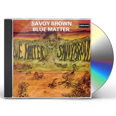 Savoy Brown BLUE MATTER CD