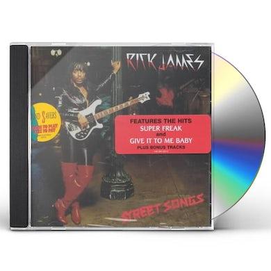 Rick James STREET SONGS CD