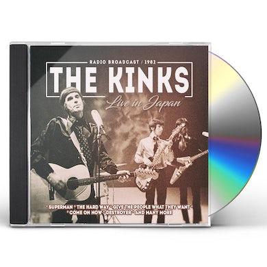 The Kinks Live in japan CD