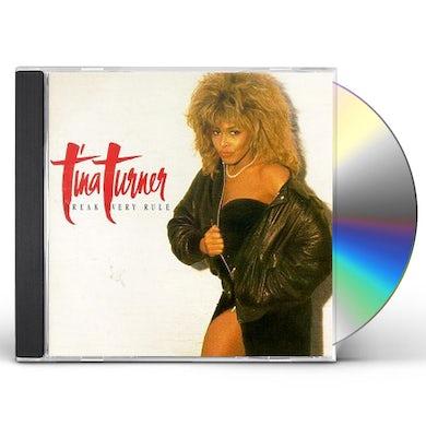 Tina Turner BREAK EVERY RULE CD