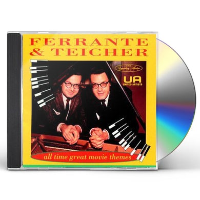 Ferrante & Teicher ALL-TIME GREAT MOVIE THEMES CD