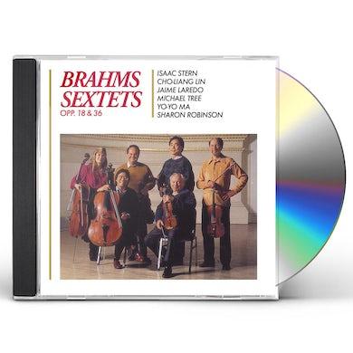 Isaac Stern Brahms: String Sextets Opp 18 & 36 CD