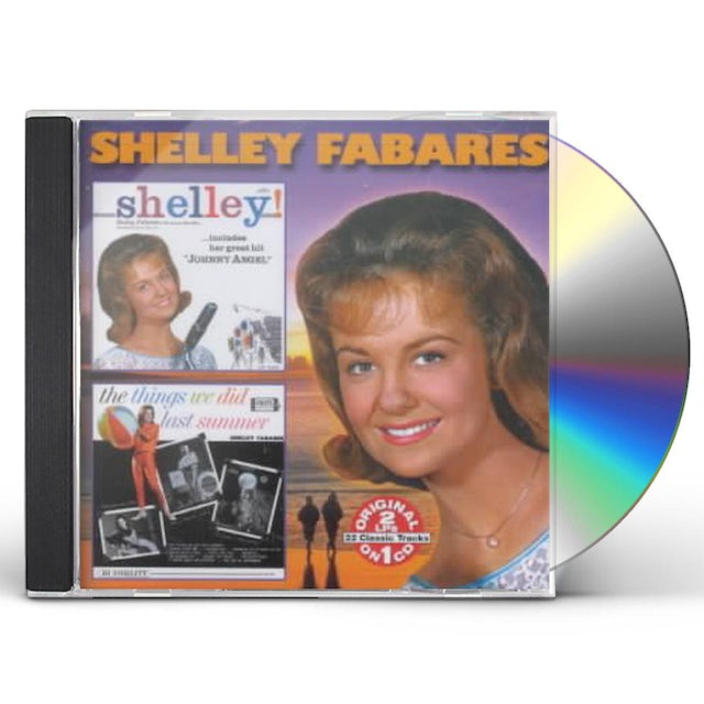 Shelly Fabares SHELLY / THINGS WE DID LAST SUMMER CD