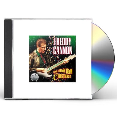 Freddy Cannon BOOM BOOM CHRISTMAS CD