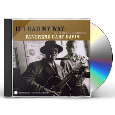 Rev Gary Davis IF I HAD MY WAY CD