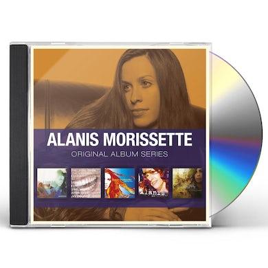 Alanis Morissette ORIGINAL ALBUM SERIES CD