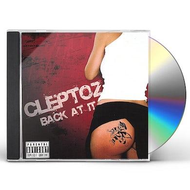 Cleptoz BACK AT IT CD