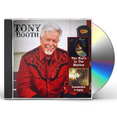 Tony Booth KEY'S IN THE MAILBOX / LONESOME 7-7203 CD