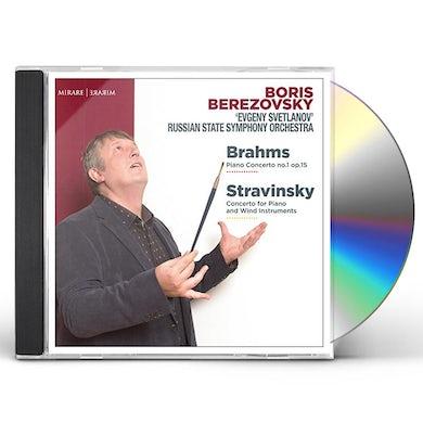 BRAHMS & STRAVINSKY: PIANO CONCERTOS CD