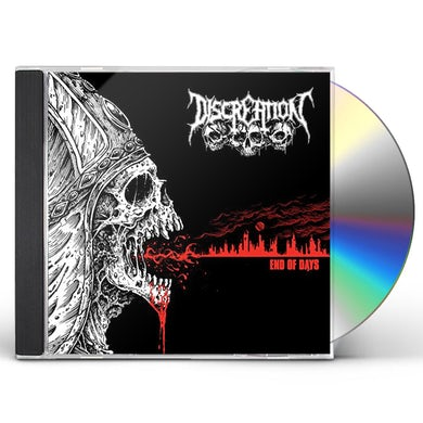 Discreation END OF DAYS CD