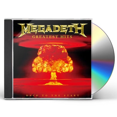 Megadeth GREATEST HITS: BACK TO THE START CD