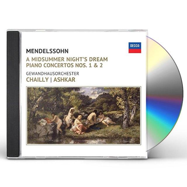 Riccardo Chailly MENDELSSOHN: A MIDSUMMER NIGHT'S DREAM CD