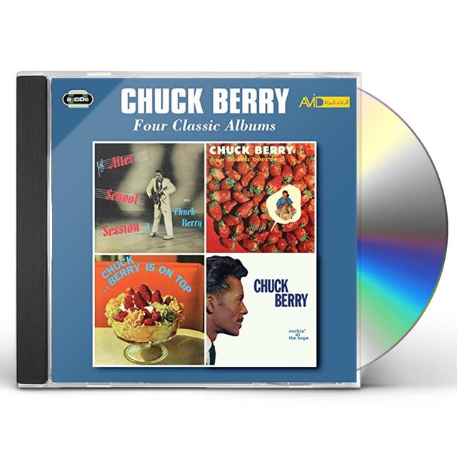 Chuck Berry AFTER SCHOOL SESSION / ONE DOZEN BERRYS / CHUCK CD