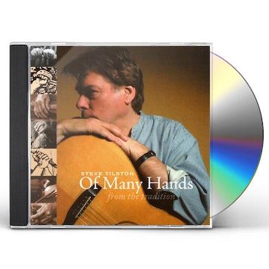 Steve Tilston OF MANY HANDS CD
