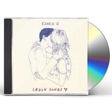 Karen O CRUSH SONGS CD