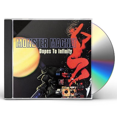 Monster Magnet DOPES TO INFINITY: DELUXE EDITION CD