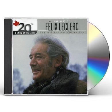 Felix Leclerc 20TH CENTURY MASTERS CD