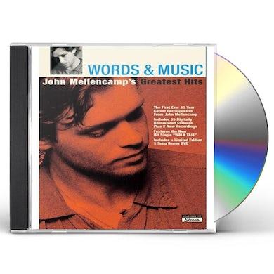 WORDS & MUSIC: JOHN MELLENCAMP'S GREATEST HITS CD