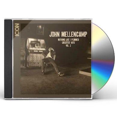 John Mellencamp ICON: NOTHING LIKE I PLANNED - GREATEST HITS 3 CD