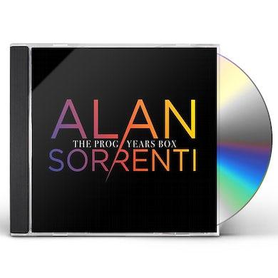 Alan Sorrenti PROG YEARS BOX (CON INEDITI) CD