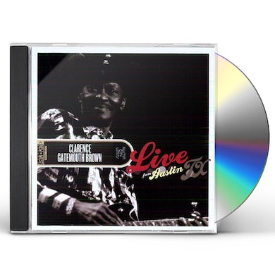 Clarence Gatemouth Brown LIVE FROM AUSTIN TX CD
