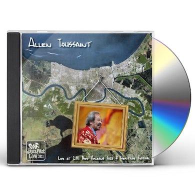 Allen Toussaint LIVE AT JAZZ FEST 2011 CD