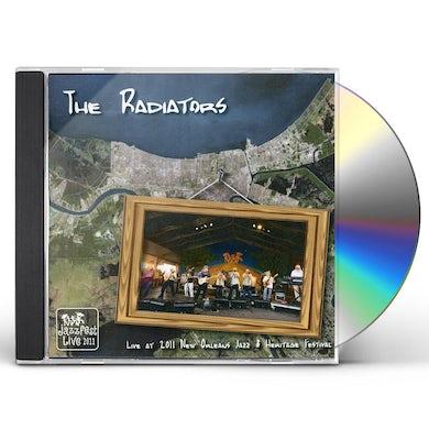 Radiators LIVE AT JAZZ FEST 2011 CD