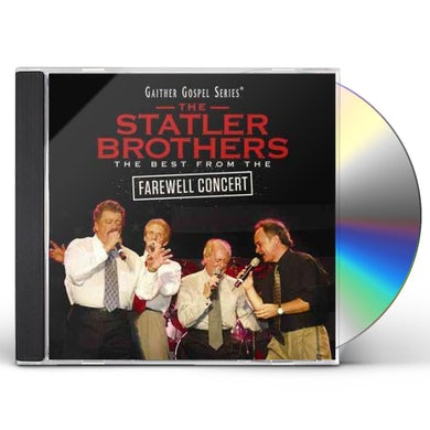 Statler Brothers BEST FROM THE FAREWELL CONCERT CD