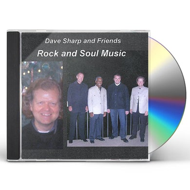 Dave Sharp ROCK AND SOUL MUSIC CD