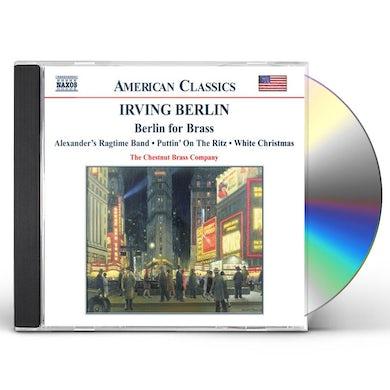 Irving Berlin BERLIN FOR BRASS CD