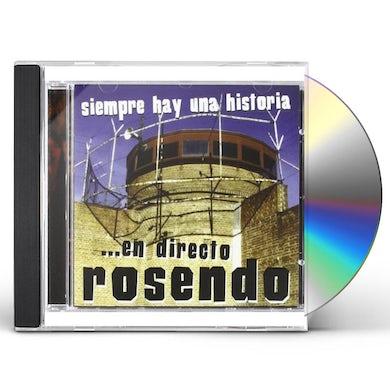 Rosendo SIEMPRE HAY UNA HISTORIA: EN DIRECTO CD