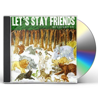 Les Savy Fav LET'S STAY FRIENDS CD
