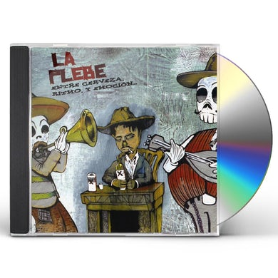 Plebe ENTRE CERVEZA RITMO Y EMOCION CD