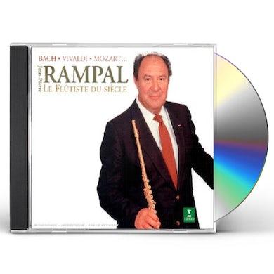 Jean Pierre Rampal LE FLUTISTE DU SIECLE CD