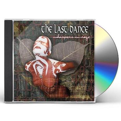 Last Dance WISPERS IN RAGE CD