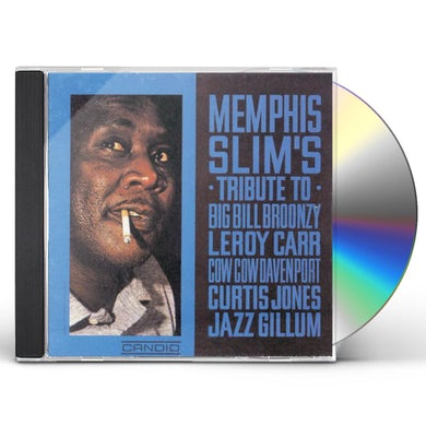 Slim Memphis  TRIBUTE TO BIG BILL BROONZY LEROY CARR ETC CD
