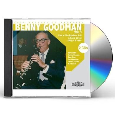 Benny Goodman YALE UNIVERSITY ARCHIVES 3 CD