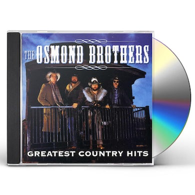 Osmond Brothers GREATEST COUNTRY HITS CD