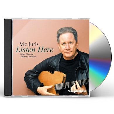 Vic Juris LISTEN HERE CD