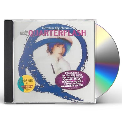 Quarterflash HARDEN MY HEART - BEST OF CD