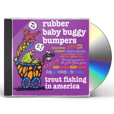 Trout Fishing In America RUBBER BABY BUGGY BUMPERS CD
