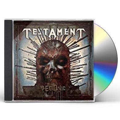Testament DEMONIC CD