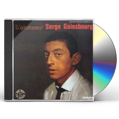 L'ETONNANT SERGE GAINSBOURG CD