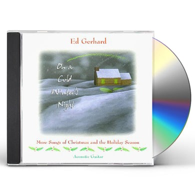 Edward Gerhard ON A COLD WINTER'S NIGHT CD